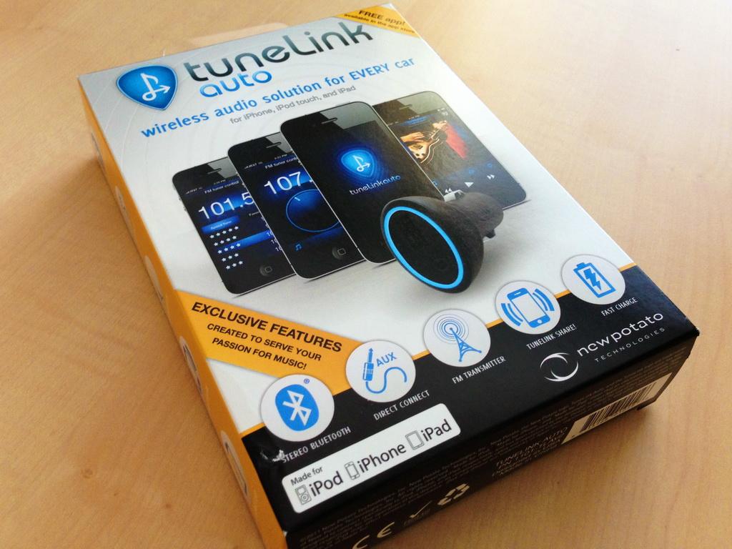 Tunelink Auto Bluetooth FM-Transmitter