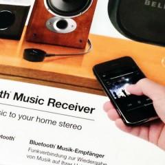 Musik einfach per Bluetooth auf die Stereo-Anlage