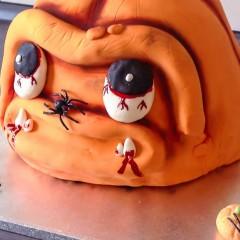 Eine leckere Halloween Torte selber backen