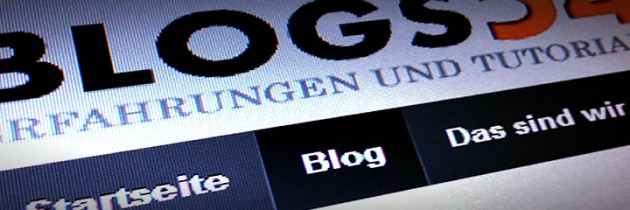Wie verlinke ich den Blog in WordPress