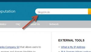 URL bei URLVOID.com eingeben