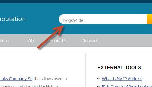 Webseite auf Malware prüfen › Blogs54