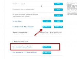 Uninstaller Download Page