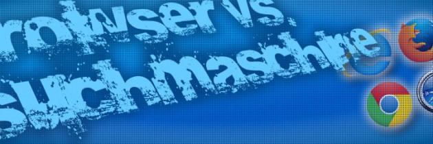 Der Unterschied zwischen Browser und einer Suchmaschine