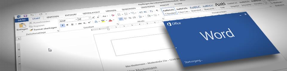 Einen eigenen Kopfbogen mit MS Word erstellen, so wird's gemacht.