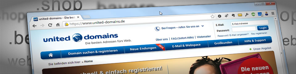 Neue Domain-Endungen ab 2014