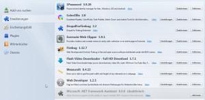 Meine Firefox Plugins