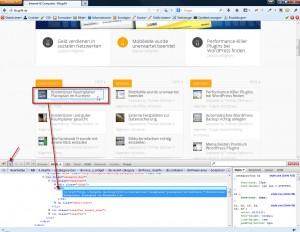 Firebug Fenster am unteren Browserrand