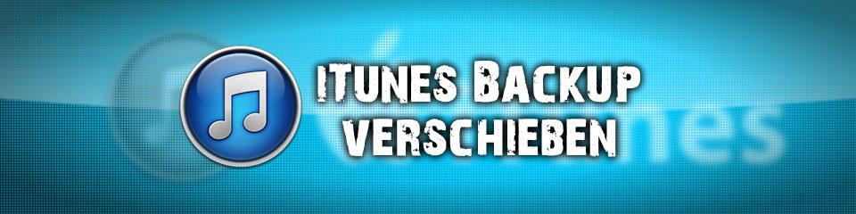 iTunes Backup bei Windows 7 oder Vista verschieben