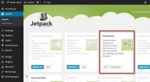 JetPack für WordPress