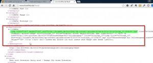 Kontrolle des Beitragsbildes im RSS Feed