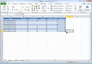 Excel - Formatierungen der ersten Zelle mitkopiert