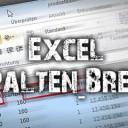 Excel Spaltenbreite automatisch anpassen