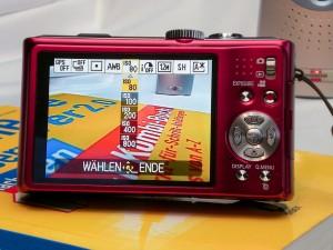 Kleinsten ISO Wert an der Kamera einstellen.