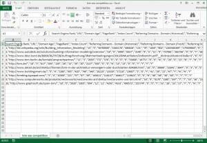 Nicht erkannte CSV Datenstruktur