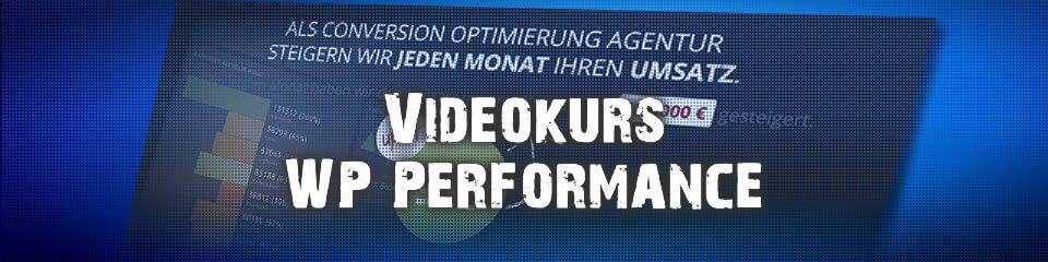 Mehr Performance für Deine WordPress Seite