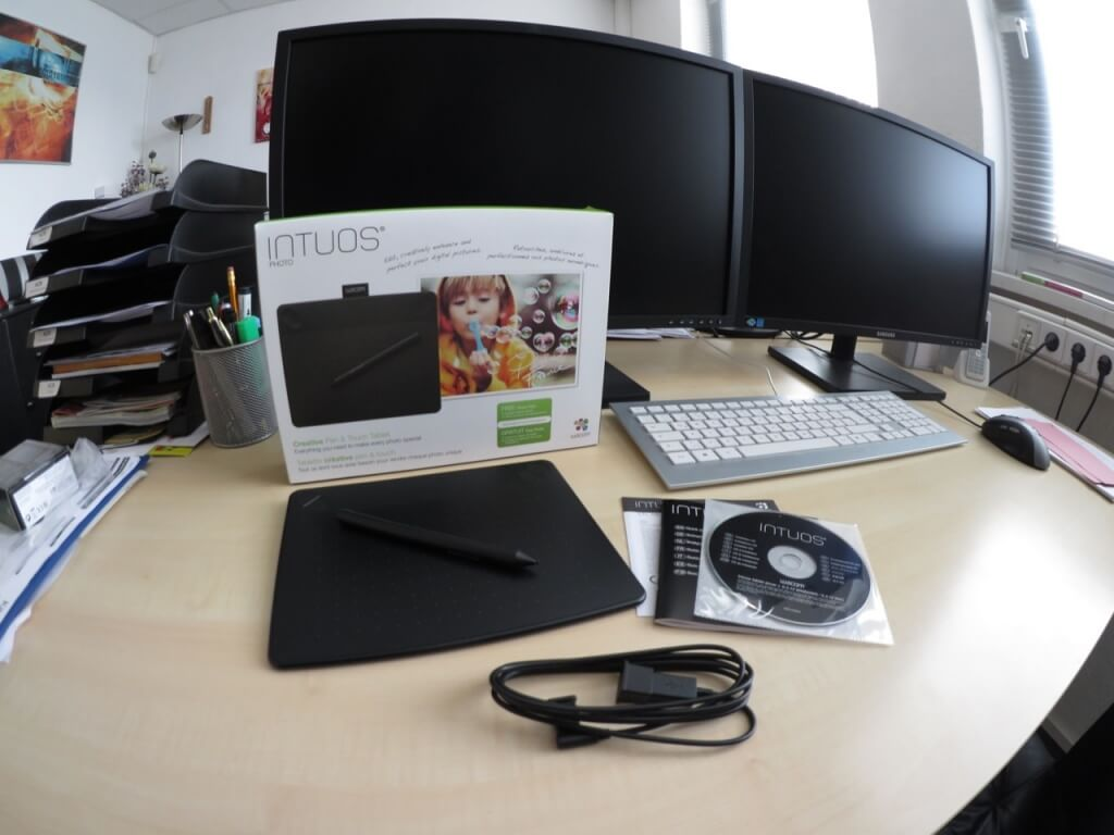 Intuos CTH-490 Lieferumfang