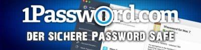 1Password der Plattform übergreifende Passwort Safe