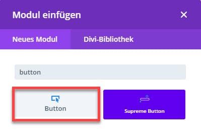 Divi Button einfügen