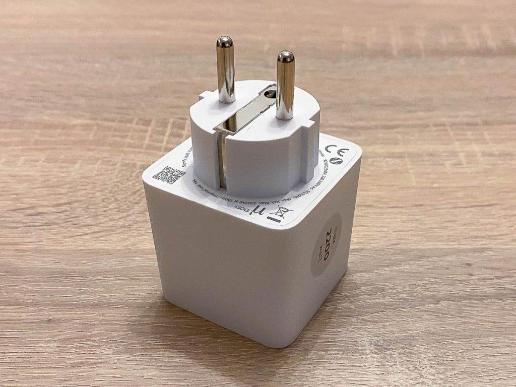 Smart Plug Steckerseite