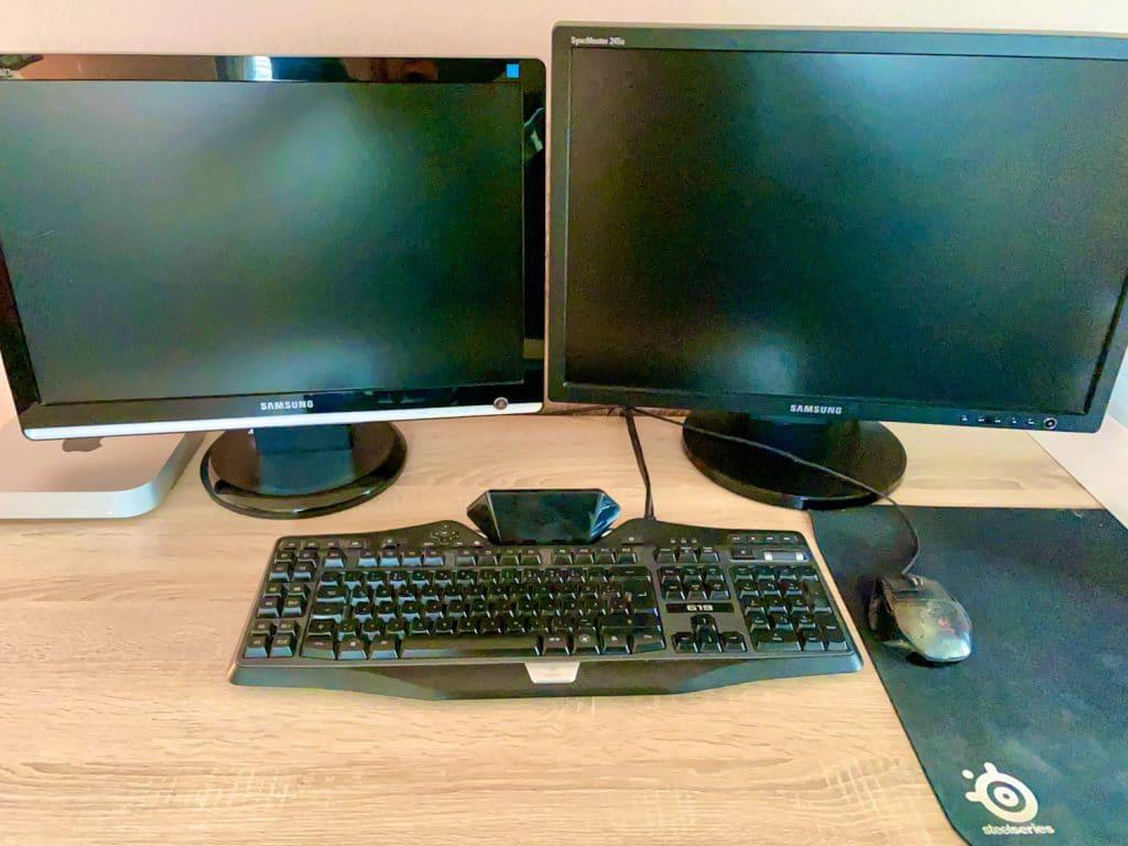 Mac Mini M1 an alte Monitore