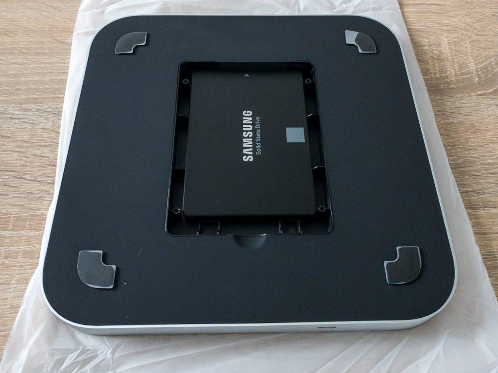 Einbau der SSSD in den USB-C Hub für Mac Mini